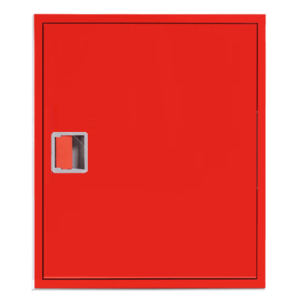 Шкаф пожарный ШПК 310 НЗК навесной, закрытый, красный