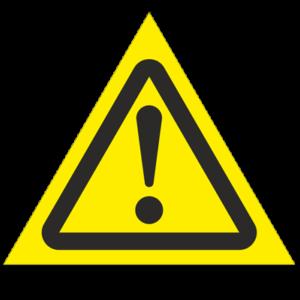 Знак - Внимание! Опасность (прочие опасности) W09