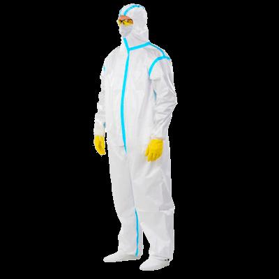 Протект-600 - комбинезон защитный одноразовый с капюшоном